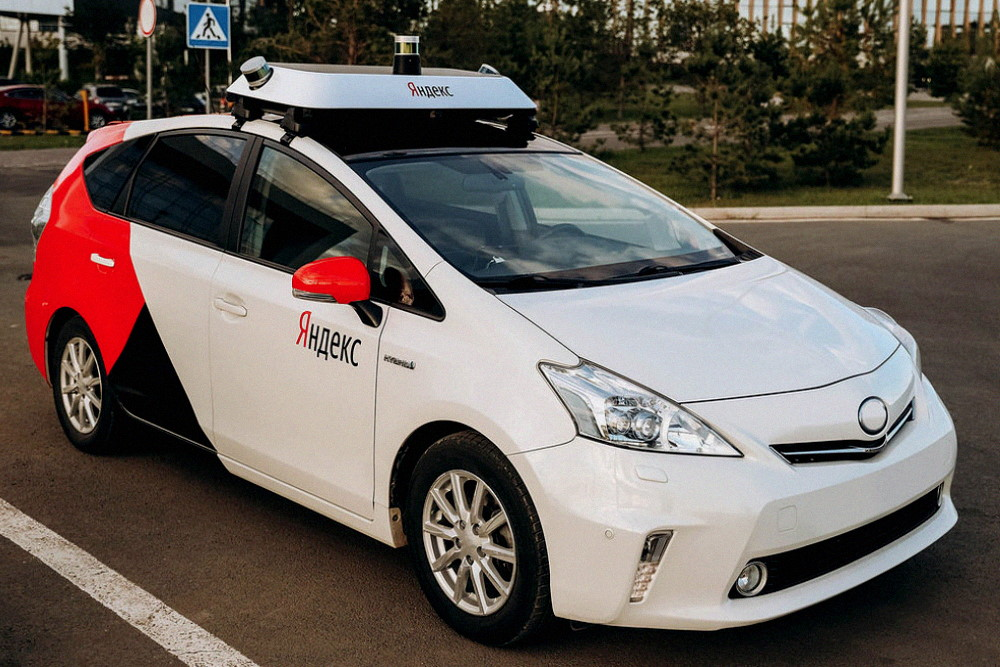Беспилотный автомобиль Яндекс