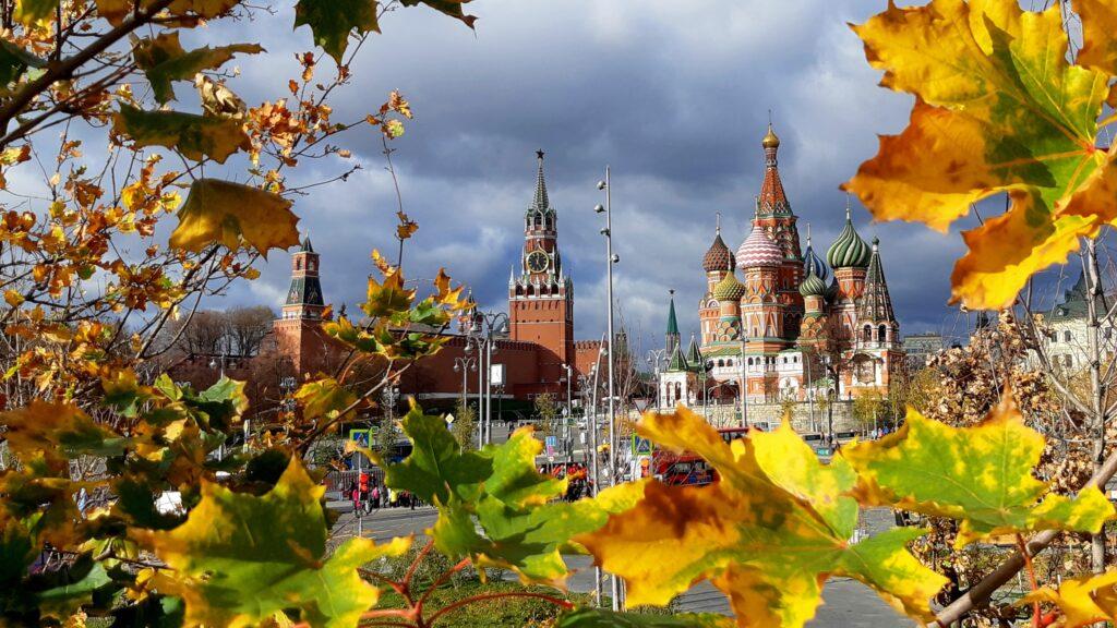 Красивое фото Москвы